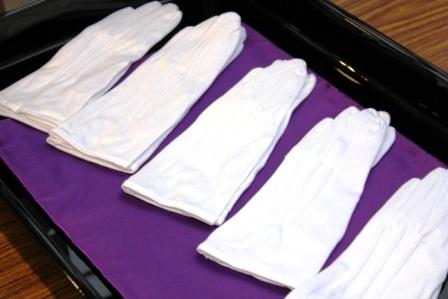 白手袋(式典専用・販売品)