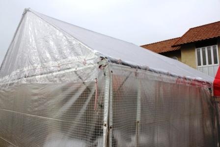 透明天幕仕様 テント3.6m×5.4m