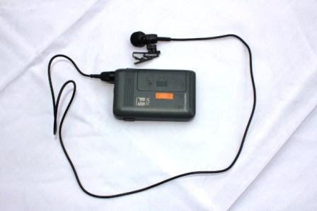 ワイアレスピンマイク 小規模音響機器(本体)専用