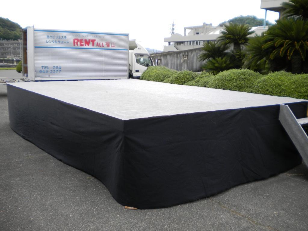 ステーシ゛ 舞台 3600㎜×5400㎜ (2k×3k 屋根なし)