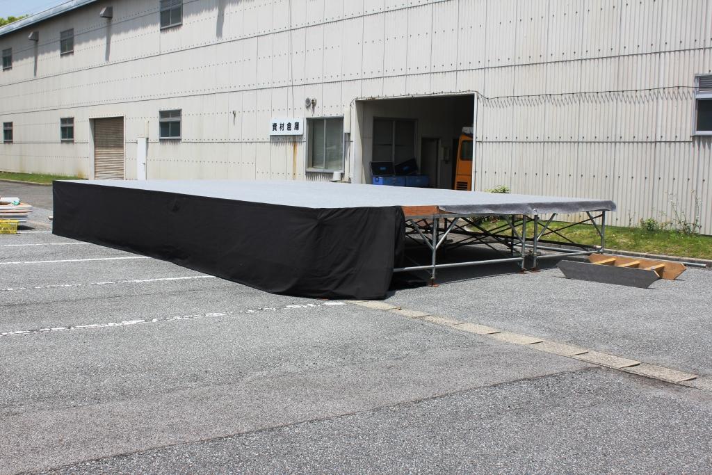 ステーシ゛ 舞台 5400㎜×9000㎜ (3k×5k 屋根なし)