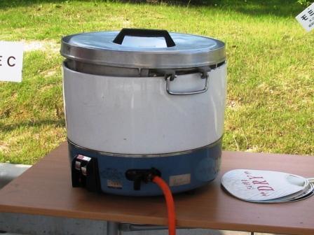 炊飯器ガス式(3升炊き)