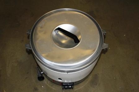 炊飯器ガス式(5升炊き)