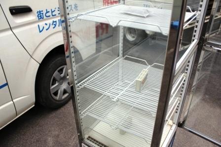 四面ガラスショーケース(冷蔵)150L